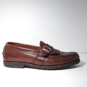Allen Edmonds Waterbury Men Brown Loafers Size 10D